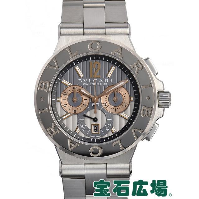 ブルガリ ディアゴノ カリブロ303 DG42C14SWGSDCH 中古 メンズ 腕時計
