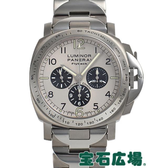 パネライ ルミノール フライバック 限定生産300本PAM00060 中古 メンズ 腕時計 送料・代引手数料無料