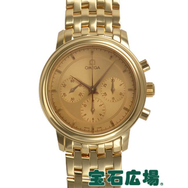 オメガ デビルプレステージクロノ 4140-11 中古 メンズ 腕時計 送料・代引手数料無料