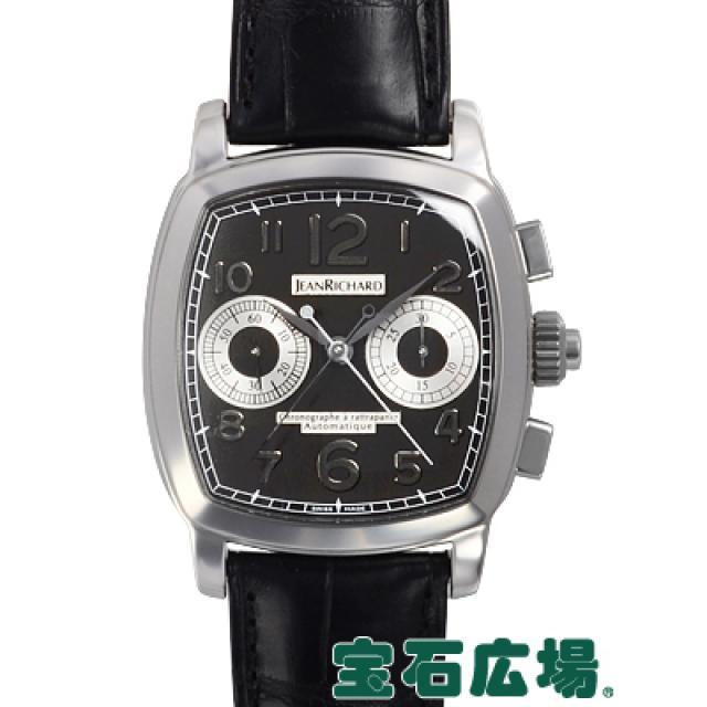 ジャンリシャール グランドTVスクリーン ラトラパンテ 50026-11-60E-AA6D 中古 未使用品 メンズ 腕時計