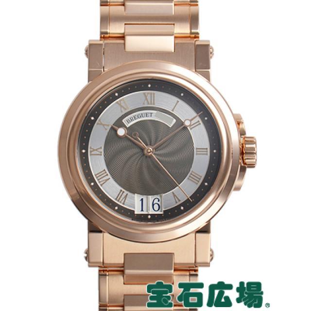 ブレゲ マリーンラージデイト 5817BR/Z2/RM0 中古 メンズ 腕時計