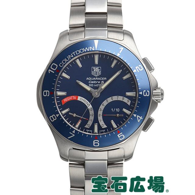 タグ・ホイヤー ニューアクアレーサー クロノキャリバーSレガッタ CAF7110 中古 メンズ 腕時計
