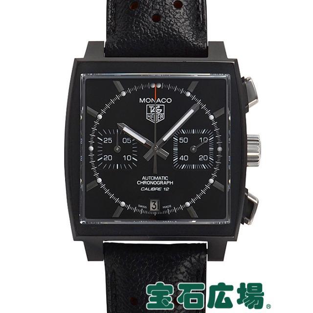 タグ・ホイヤー モナコクロノグラフ ACM ブラックスティール CAW211M.FC6324 中古 メンズ 腕時計