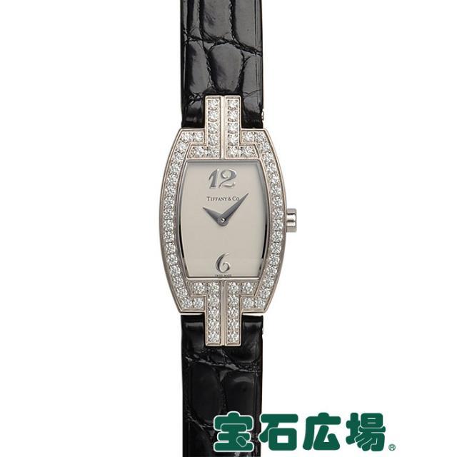 ティファニー トノーカクテルウォッチ Z0093.10.40X21A40B 中古 レディース 腕時計