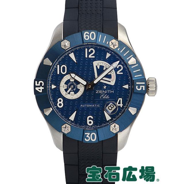 ゼニス デファイ クラシック パワーリザーブシー 03.0519.685/51.R674 中古 未使用品 メンズ 腕時計