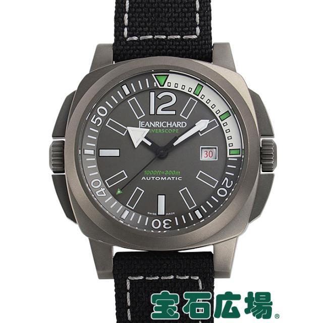 ジャンリシャール ダイバースコープ JR1000 60130-21-61A-AN6D 中古 メンズ 腕時計