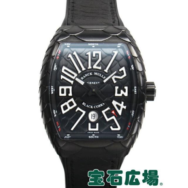 フランク・ミュラー ヴァンガード ブラックコブラ V45SCDTNR BLACK COBRA 中古 メンズ 腕時計