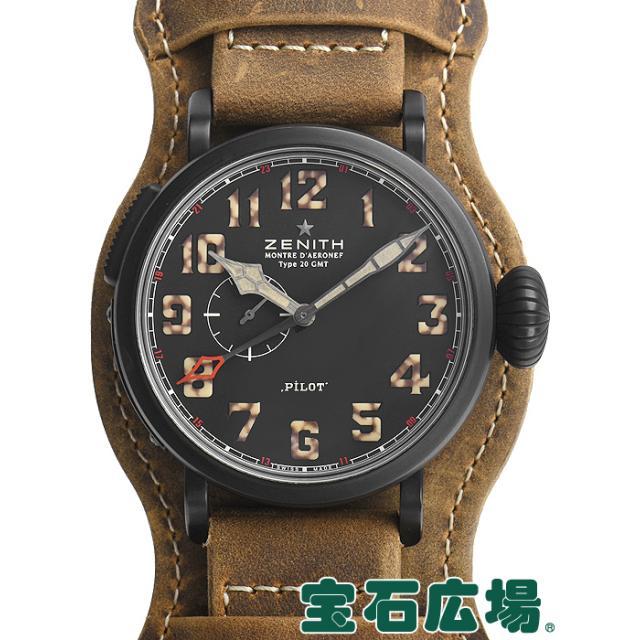 ゼニス パイロットタイプ20GMT1903 世界限定1903本 96.2431.693/21.C738 中古 メンズ 腕時計
