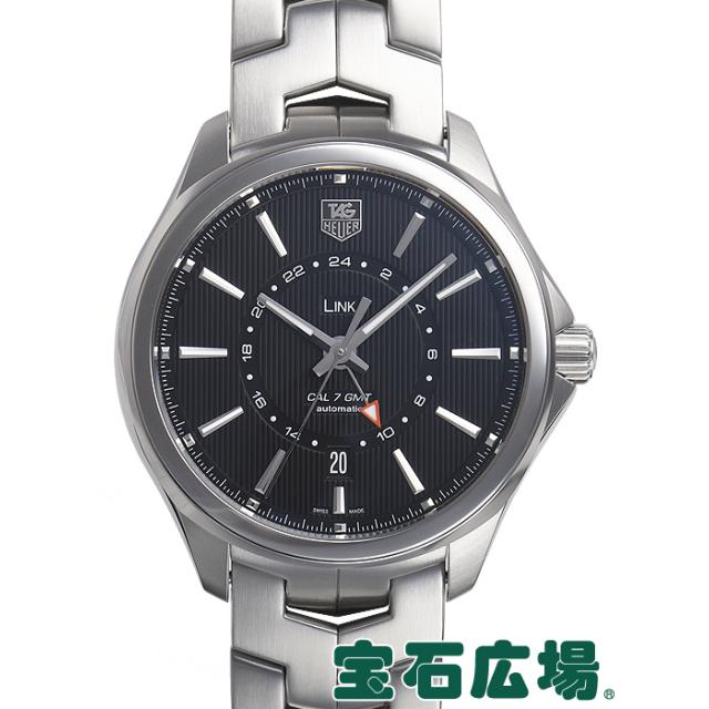 TAG Heuer タグ・ホイヤー リンクキャリバー7GMT WAT201A.BA0951 中古 メンズ 腕時計