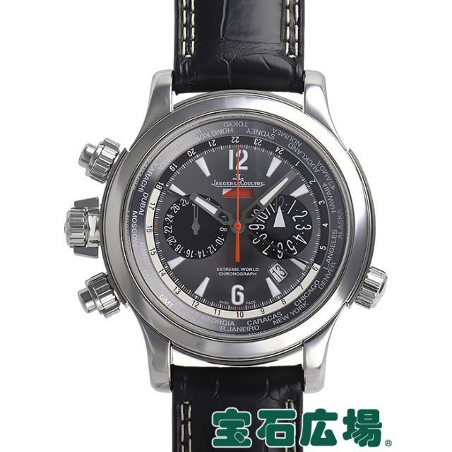 ジャガー・ルクルト マスターコンプレッサー エクストリームワールド クロノ レフトハンド 世界限定100本 Q17684G7 中古 メンズ 腕時計
