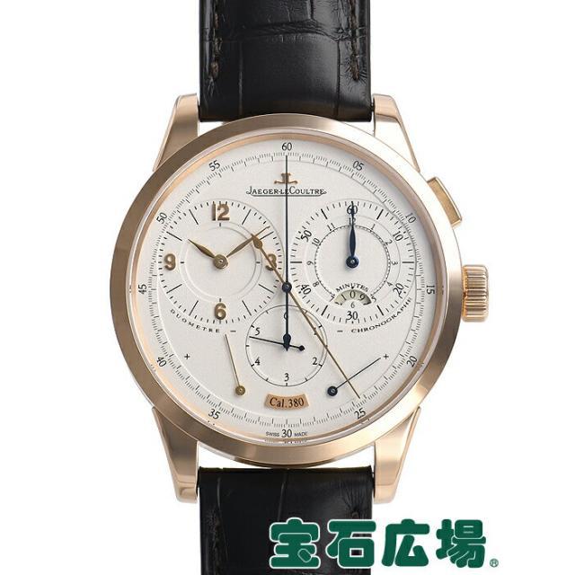 ジャガー・ルクルト デュオメトル クロノグラフ Q6012420 中古 メンズ 腕時計