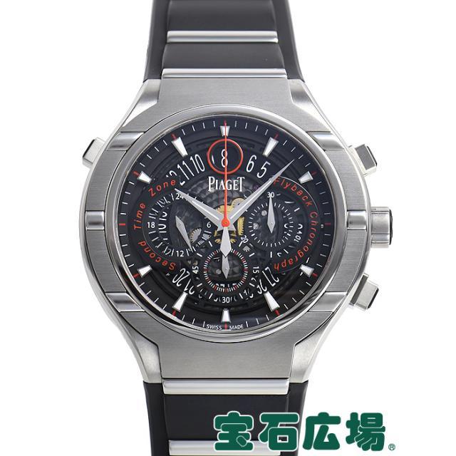 ピアジェ ポロ45 クロノグラフ 世界限定500本 GOA35001 中古 メンズ 腕時計 送料・代引手数料無料