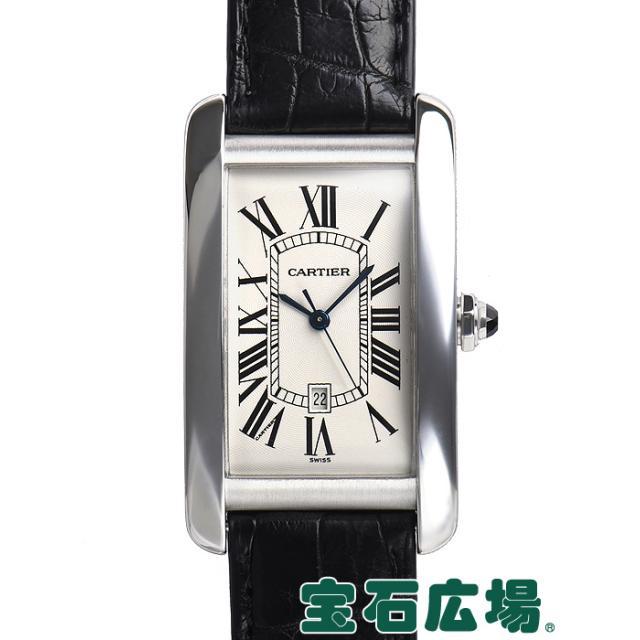 カルティエ タンクアメリカン LM W2603256 中古 メンズ 腕時計 送料・代引手数料無料
