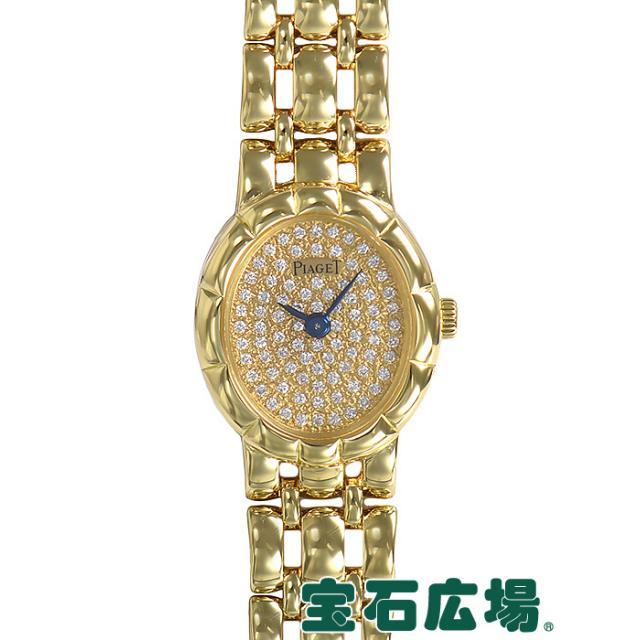 ピアジェ オーバル2針 83222K61 中古 レディース 腕時計