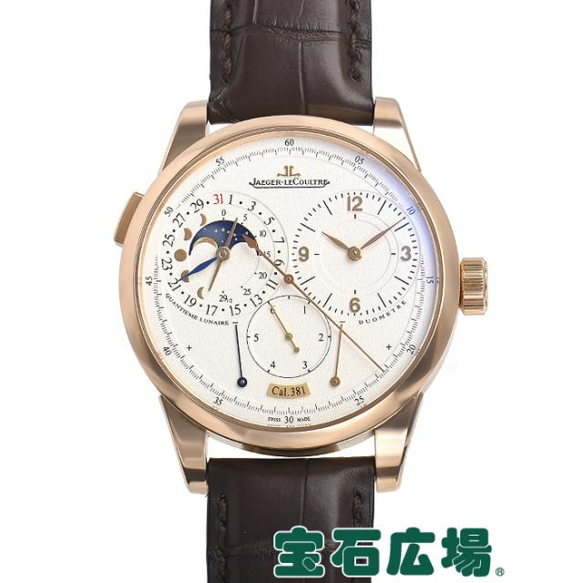 ジャガー・ルクルト デュオメトル カンティエーム ルネール40.5 Q6042521 中古 メンズ 腕時計 送料・代引手数料無料