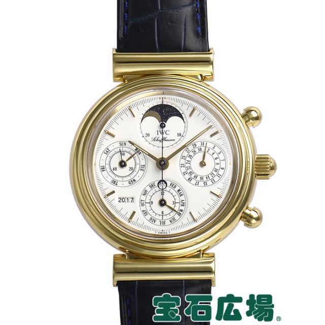 IWC ダヴィンチ パーペチュアルカレンダー クロノグラフ 3750 中古 メンズ 腕時計
