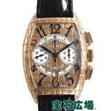 フランク・ミュラー トノウカーベックス ゴールドクロコクロノ 8880CCAT GOLD CRO 中古 メンズ 腕時計 送料・代引手数料無料