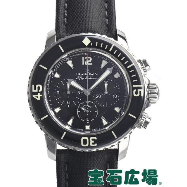 ブランパン フィフティファゾムス フライバッククロノ 5085F.1130.52 中古 メンズ 腕時計