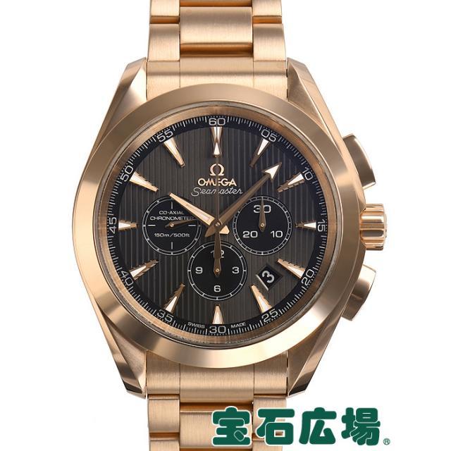 オメガ シーマスター クロノ コーアクシャル アクアテラ クロノメーター 231.50.44.50.06.001 中古 メンズ 腕時計