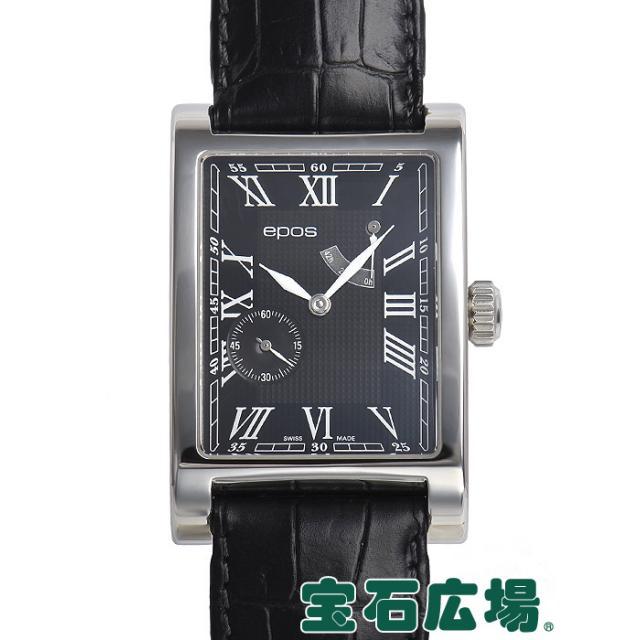 エポス レクタングル パワーリザーブ 限定生産300本 3327 中古 メンズ 腕時計