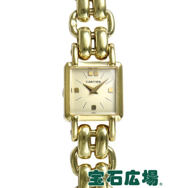 カルティエ スクエア2針 中古 レディース 腕時計
