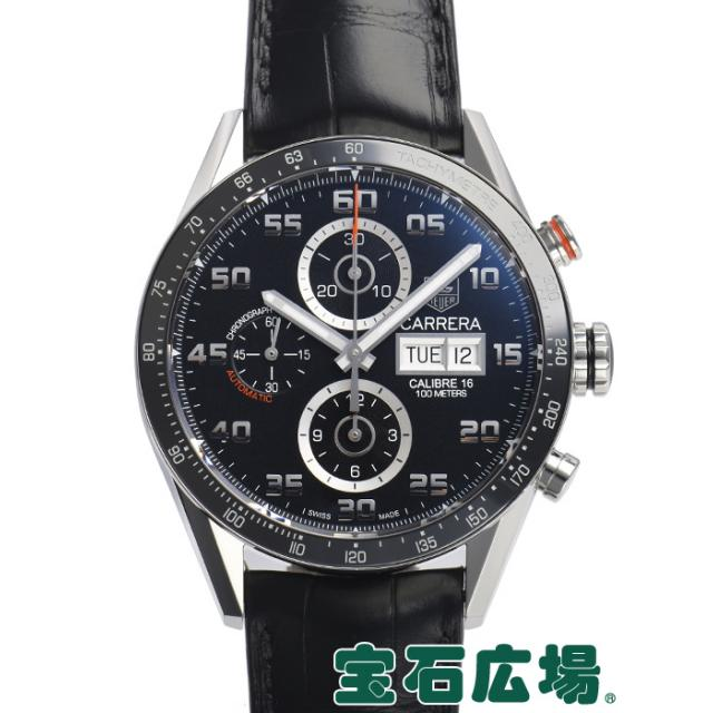 タグ・ホイヤー カレラ キャリバー16 クロノグラフデイデイト CV2A1R.FC6235 中古 メンズ 腕時計