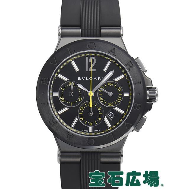 ブルガリ ディアゴノ ウルトラネロ クロノグラフ DG42BBSCVDCH/2 中古 メンズ 腕時計