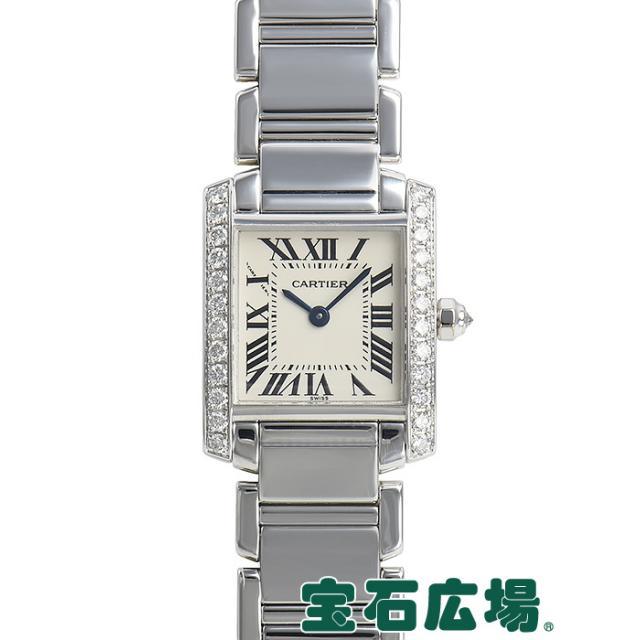 カルティエ タンクフランセーズ SM WE1002S3 中古 レディース 腕時計