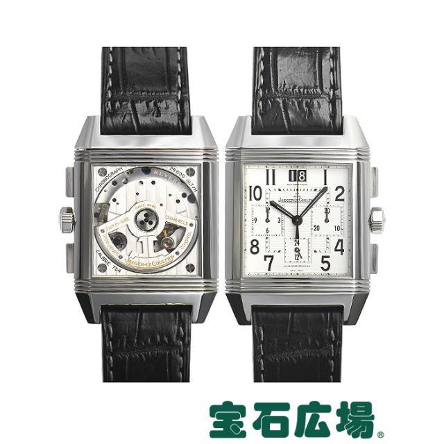 ジャガー ルクルトレベルソ スクアドラクロノグラフ GMT Q7018420 中古 メンズ 腕時計