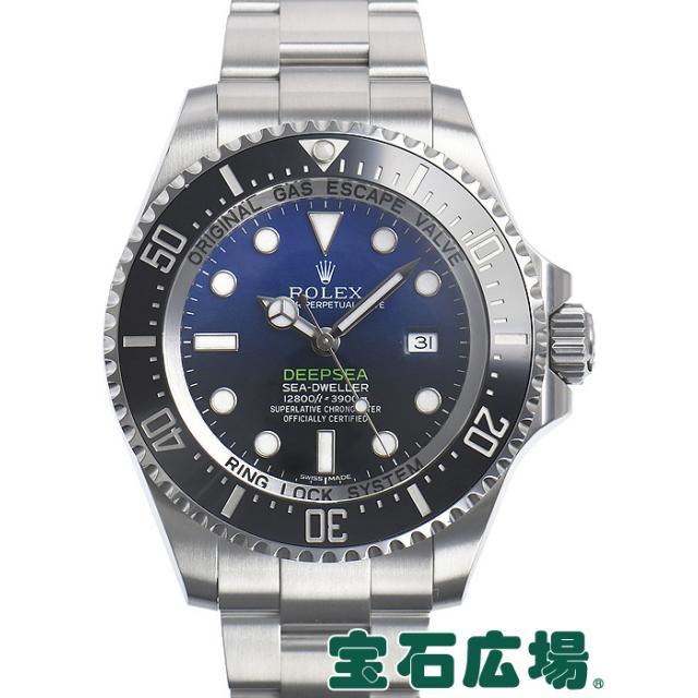 ロレックス シードゥエラー ディープシー Dブルー 116660 中古 メンズ 腕時計 送料・代引手数料無料