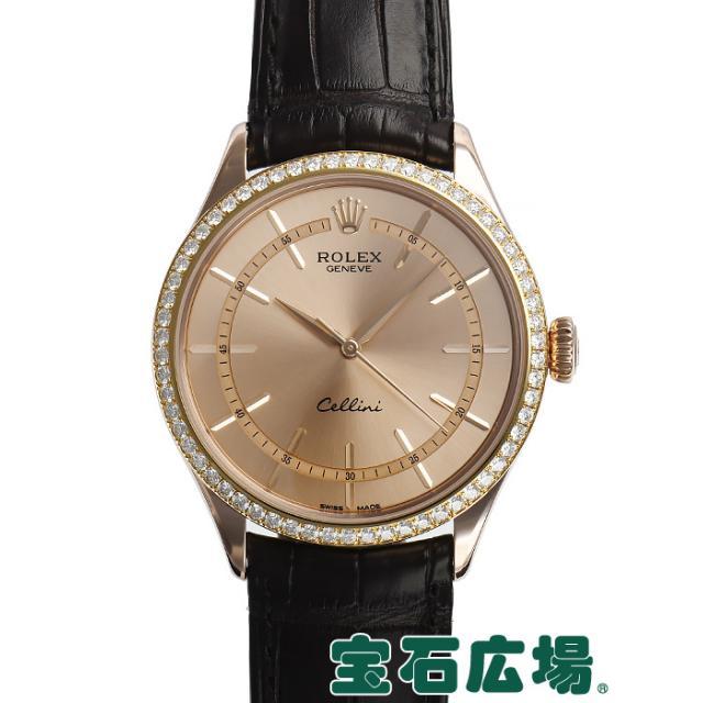 ロレックス チェリーニ タイム 50705RBR 中古 メンズ 腕時計