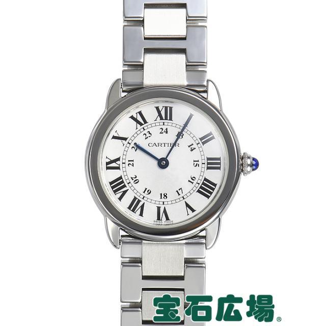 カルティエ ロンドソロ ドゥカルティエ W6701004 中古 レディース 腕時計