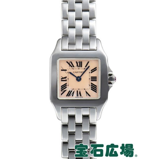 カルティエ サントス ドゥモワゼル SM W25075Z5 中古 レディース 腕時計