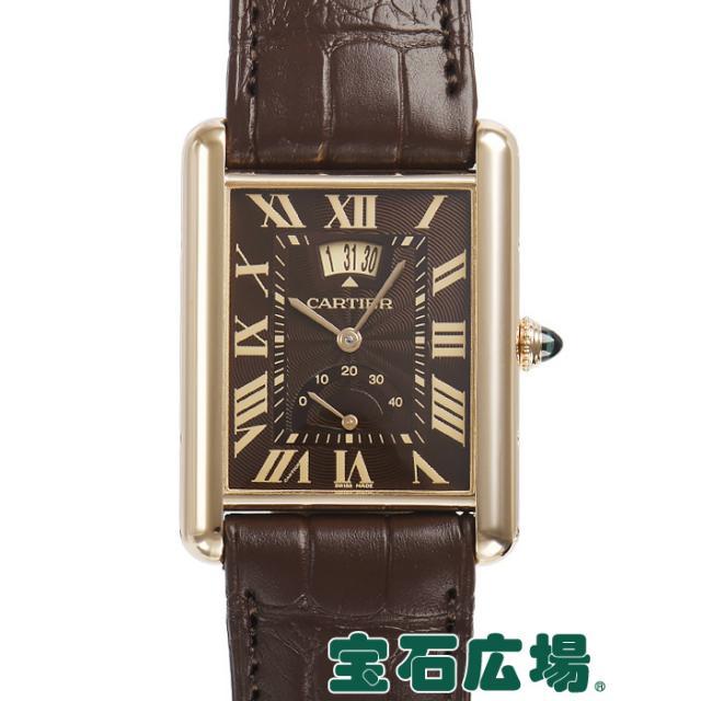 カルティエ タンク ルイ カルティエ マニュアルデイト W1560002 中古 メンズ 腕時計 送料・代引手数料無料