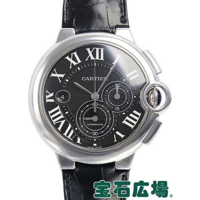 カルティエ バロンブルークロノ 44mm W6920052 中古 メンズ 腕時計