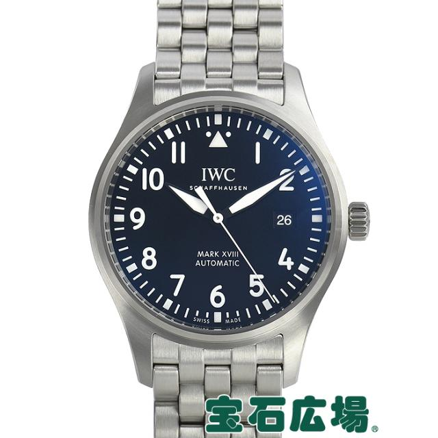 IWC パイロットウォッチ マーク18 IW327011 中古 メンズ 腕時計 送料・代引手数料無料