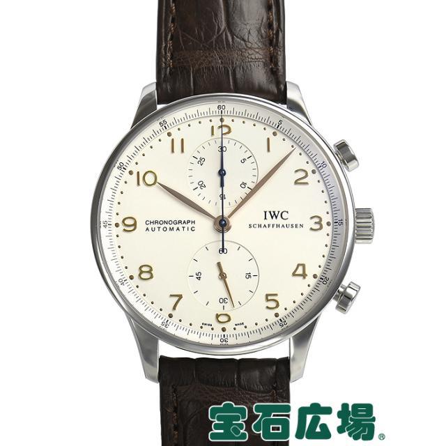IWC ポルトギーゼ クロノ IW371401 中古 メンズ 腕時計 送料・代引手数料無料