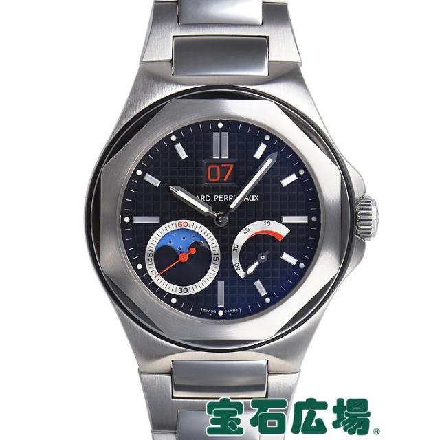 ジラール・ペルゴ ロレアート EVO3 ビッグデイト&ムーンフェイズ 80185-11-631-1 中古 メンズ 腕時計