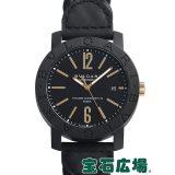 ブルガリ ブルガリブルガリ カーボンゴールド BBP40BCGLD/N 中古 メンズ 腕時計