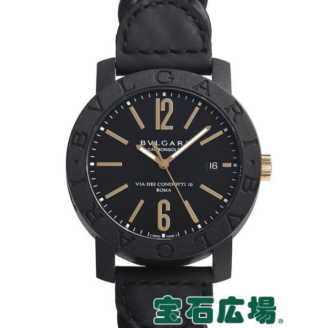 ブルガリ ブルガリブルガリ カーボンゴールド BBP40BCGLD/N 中古 メンズ 腕時計 送料・代引手数料無料