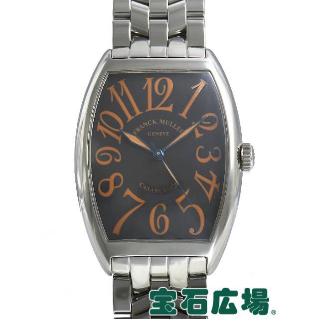 size 40 ffe64 1025b フランク・ミュラー トノウカーベックス カサブランカ サハラ 6850SAHA 中古 メンズ 腕時計