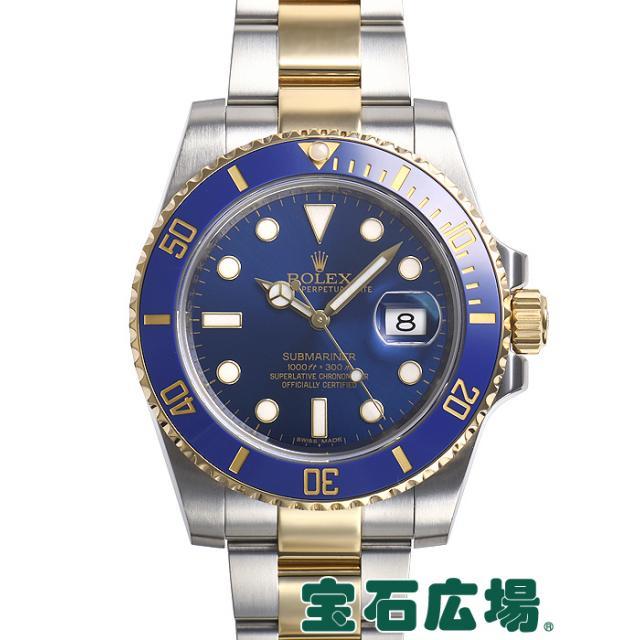 ロレックス サブマリーナーデイト 116613LB 中古 メンズ 腕時計 送料・代引手数料無料