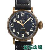 ゼニス パイロット タイプ20エクストラスペシャルブロンズ 29.2430.679/21.C753 中古 メンズ 腕時計