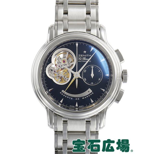 ゼニス クロノマスター Tオープン 03.0240.4021/21.M240 中古 メンズ 腕時計