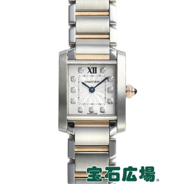 カルティエ タンクフランセーズ SM WE110004 中古 レディース 腕時計
