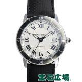 カルティエ ロンド クロワジエール ドゥ カルティエ WSRN0002 中古 メンズ 腕時計 送料・代引手数料無料