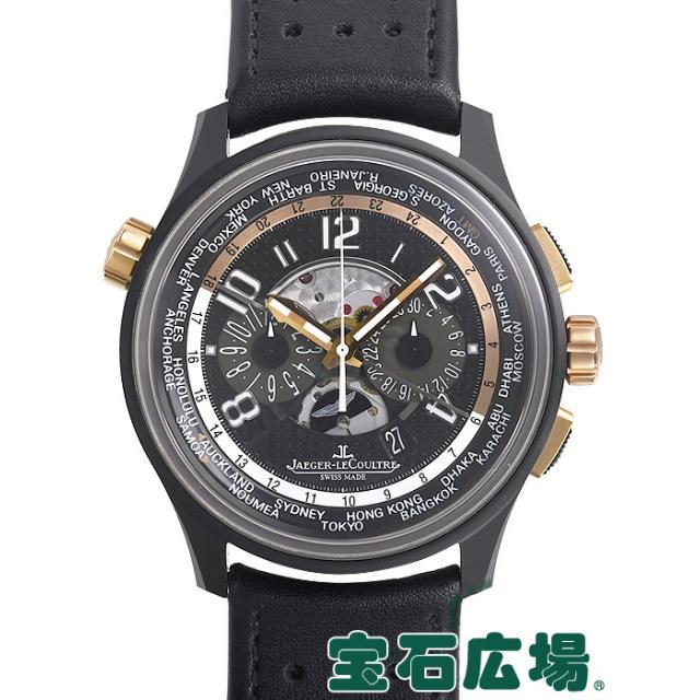 ジャガー・ルクルト AMVOX5 ワールドクロノグラフ アストンマーチン 世界200本限定 Q193L471 中古 メンズ 腕時計