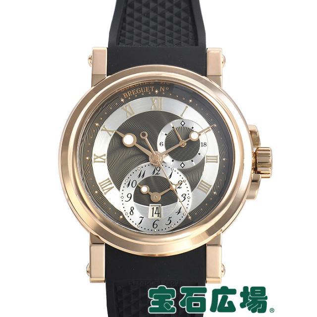 ブレゲ マリーン GMT 5857BR/Z2/5ZU 中古 メンズ 腕時計