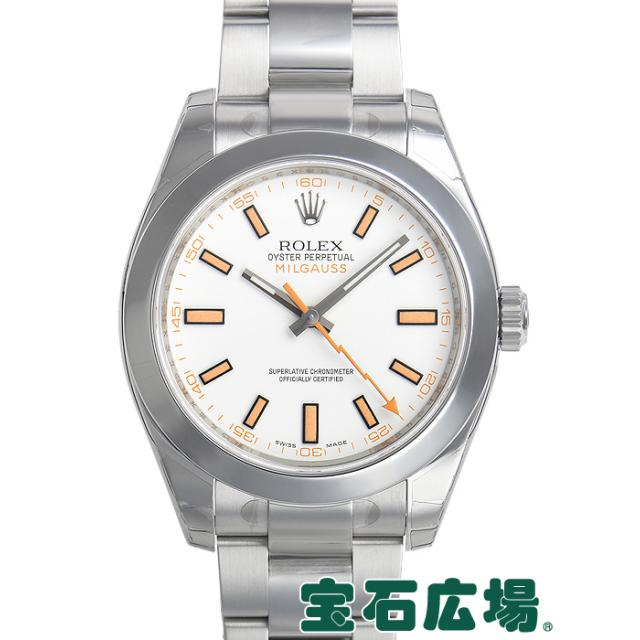 ロレックス ミルガウス 116400 中古 未使用品 メンズ 腕時計