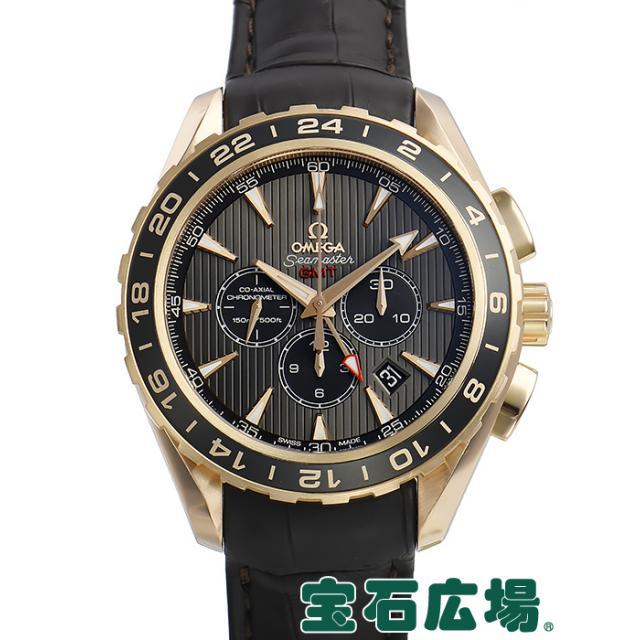 low priced 5857b 6e068 オメガ シーマスター アクアテラ GMT クロノグラフ 231.53.44.52 ...